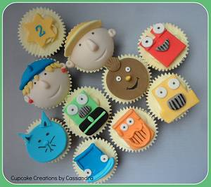Bob the Builder Cupcakes - Cake by Cupcakecreations