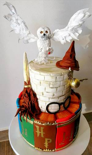 Harry Potter cake - Cake by Torte Panda