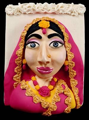 Bangladeshi Holud Bride Cake - Cake by Sultana Rajia Naznin