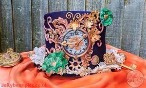 Steampunk Hat - Cake by Kelly Hallett