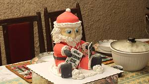 He's Coming to Town - Cake by Joy Lyn Sy Parohinog-Francisco
