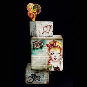 Sugar babe - Cake by Mariya's Cakes & Art