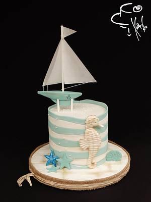 Sea cake  - Cake by Diana