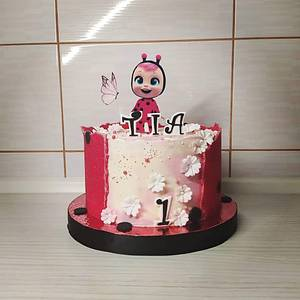 Cry baby sugar sheets cake - Cake by Tortalie