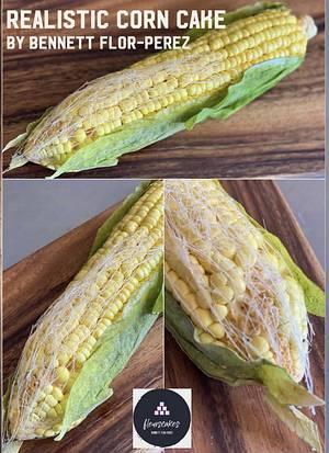 Realistic Corn Cake…100% edible - Cake by Bennett Flor Perez