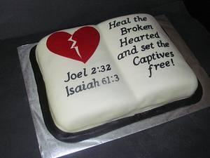 Ministry Logo - Cake by NickySignatureCakes