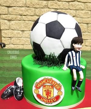 Football Party - Cake by Calli Creations