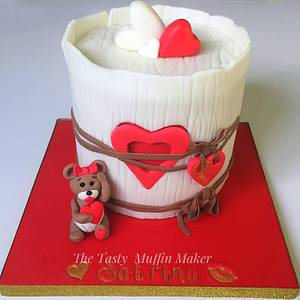 Baby love  - Cake by Andrea