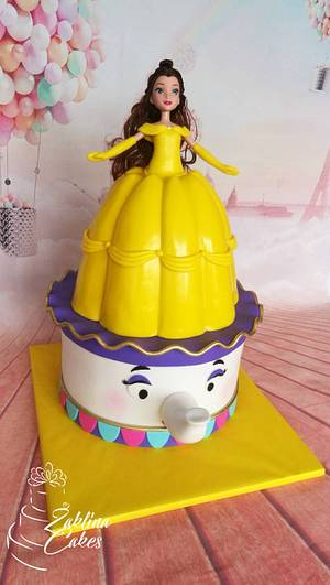 Princess Bella cake - Cake by Zaklina