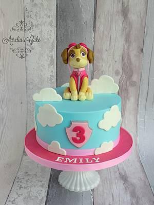 Paw Patrol - Skye - Cake by Aurelia's Cake