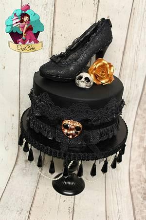 Gothic Birthday - Cake by DusiCake