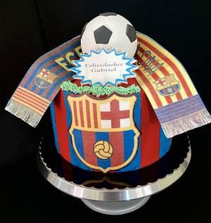 Barcelona - Cake by Snezhana