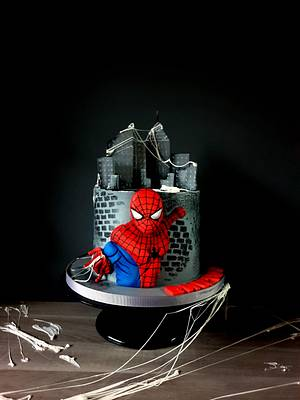 Spider Man - Cake by Radoslava Kirilova (Radiki's Cakes)