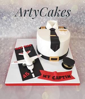 Pilot cake - Cake by Arty cakes
