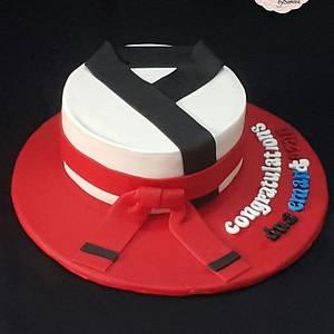 Taekwondo Cake - Cake by Occasions Cakes