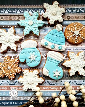 ❄Blue Christmas!❄ - Cake by DI ART