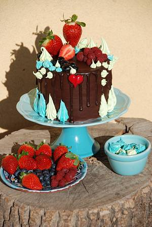Crazy cake - Cake by Lucie
