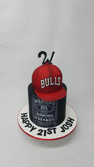 21st Cake - Cake by Bella Cakes