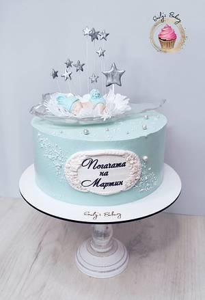 Baby shower cake - Cake by Emily's Bakery