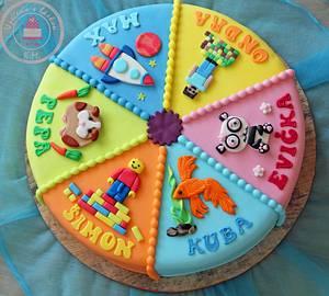 Multibirthday Cake - Cake by Tynka
