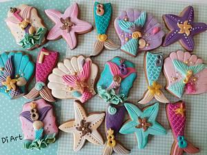 Mermaids  - Cake by DI ART