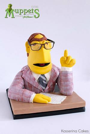 Muppet TV Newsman - Cake by Kasserina Cakes