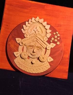 Terracotta collab :Devi Durga - Cake by Dr RB.Sudha