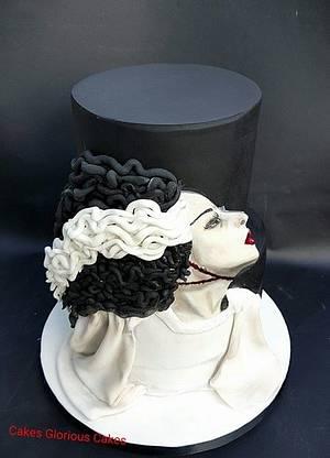 Bride of Frankenstein -Cakes Glorious Cakes - Cake by Cakes Glorious Cakes