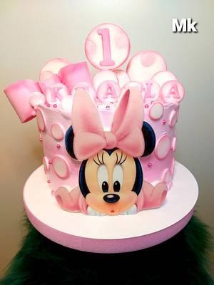 Minnie cake - Cake by Marek