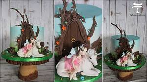 Do You believe in fairies ? :D - Cake by Sylwia
