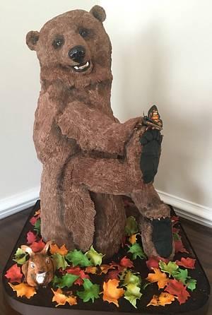 Kenai the Bear- NCACS 2016 - Cake by Kim