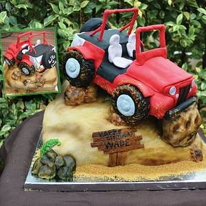 Jeep Cake - Cake by Two Sisters And A Cake