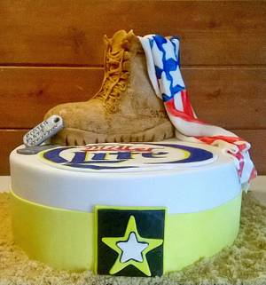 a military cake - Cake by  Pink Ann's Cakes