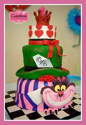 Arwen's Onederland 1st Birthday cake - Cake by Shelley O'Hara Plunkett