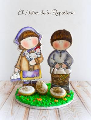 Pascua Tilda - Cake by El Atelier de la Repostería