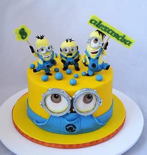 Minions cake - Cake by Carmen Iordache