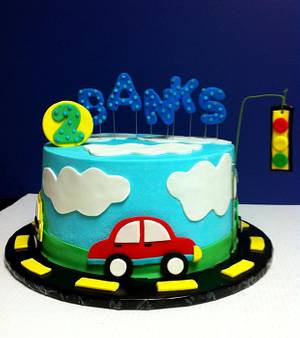 Transportation cake - Cake by Michelle