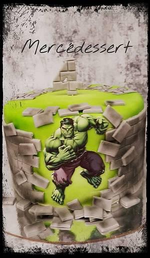 Hulk cake - Cake by Mercedessert