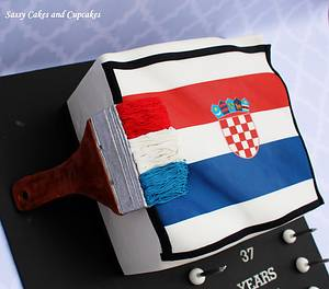 Croatian Pride - Cake by Sassy Cakes and Cupcakes (Anna)