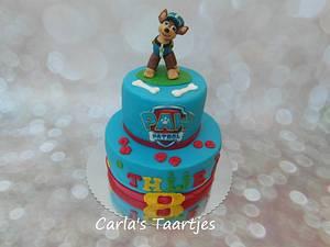 Paw Patrol- Chase - Cake by Carla