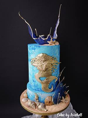 Sea cake  - Cake by Mischell