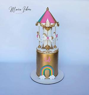 Carrouselarrousel cake - Cake by Maira Liboa