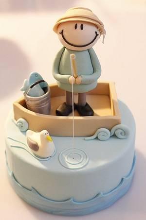 Fisherman - Cake by Chicca D'Errico