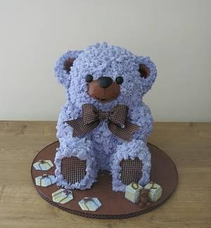 A Teddy for Oz - Cake by The Garden Baker