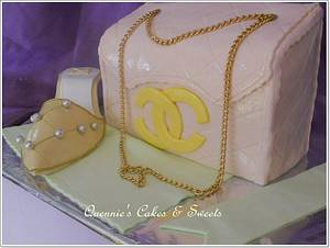 Channel Bag Cake - Cake by quennie