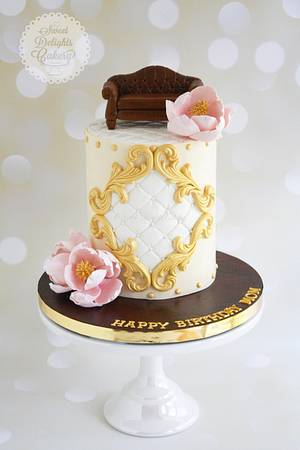 Furniture Inspired Cake - Cake by Sweet Delights Cakery