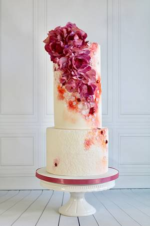Wedding cake - Cake by tomima