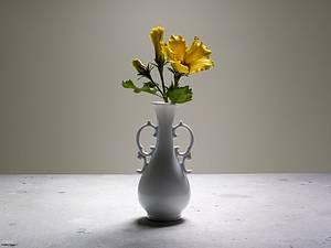 Sugar Flower Arrangement- Silver Award - Cake by Carol Pato