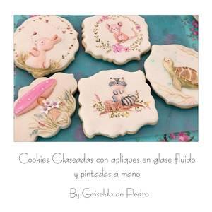 Royal icing cookies  - Cake by Griselda de Pedro