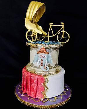 Magnificent-Bangladesh-An-International-Cake-Art-Collaboration - Cake by Erick Zea O'Phelan Suárez Sugar Art
